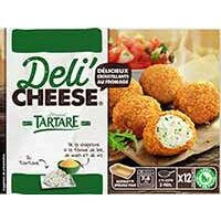 DELI'CHEESE TARTARE 12X15G DELICIEUX CROUSTILLANTS AU FROMAGE