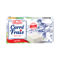 CARRÉ FRAIS NATURE 15%MG 8 PORTIONS 25G