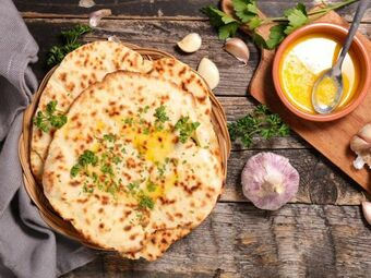 Recette : Naan au fromage au Thermomix - Recette au fromage