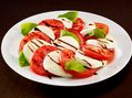 Recette : Salade caprese (tomate, mozzarella di bufala) - Recette au fromage