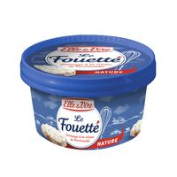 ELLE & VIRE FROMAGE LE FOUETTE NATURE 140G