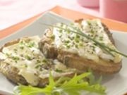 Recette : Pains perdus fromagers au camembert - Recette au fromage