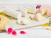 Fromage : Planche fleurie