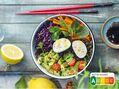 Recette : Buddha bowl au fromage - Recette au fromage