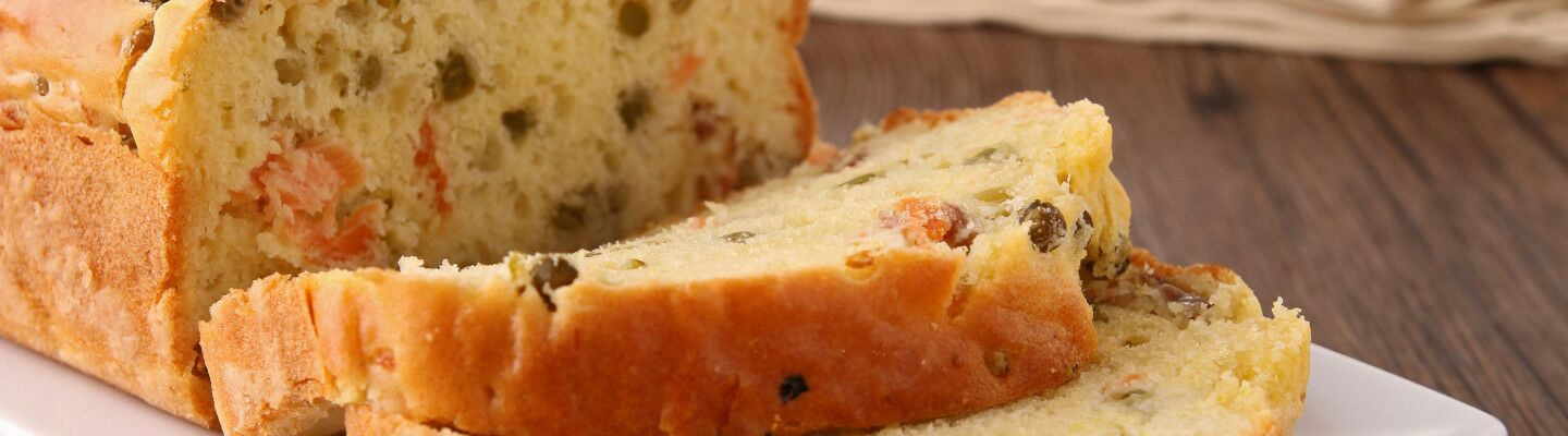 Recette Cake au fromage, curry et crabe - Recette au fromage