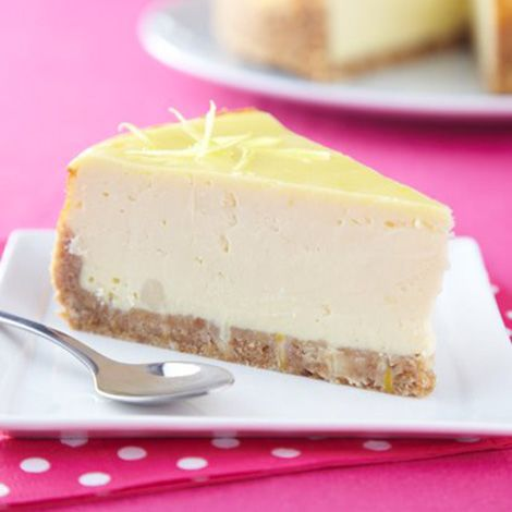 Recette : Cheesecake new-yorkais au fromage frais - Recette au fromage