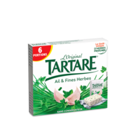 TARTARE AIL ET FINES HERBES 6 PORTIONS 96G
