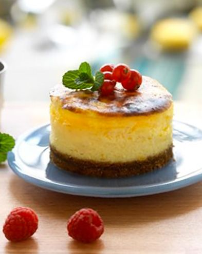 Cheesecake :  Cheesecake au fromage frais & spéculos