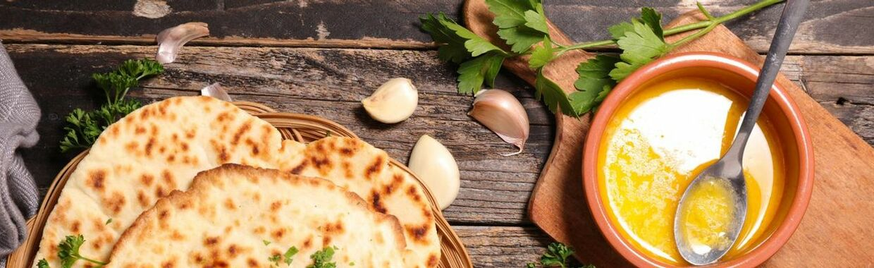 Recette Naan au fromage au Thermomix - Recette au fromage