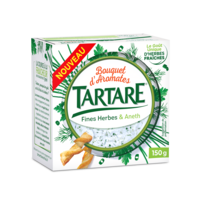 TARTARE BOUQUET AROMATES FINES HERBES & ANETH POT 150G