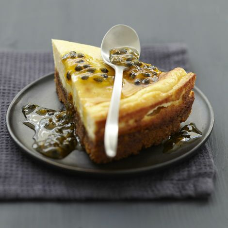 Recette : Cheesecake passion fromage frais - Recette au fromage