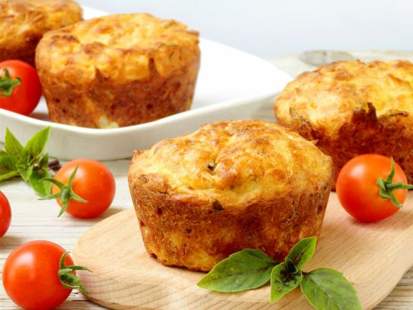 Recette : Cakes fromage et tomate - Recette au fromage