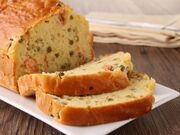 Recette : Cake au fromage, curry et crabe - Recette au fromage