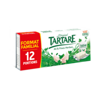 TARTARE AIL ET FINES HERBES 12 PORTIONS 192G