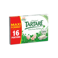 TARTARE AIL ET FINES HERBES 16 PORTIONS 250G